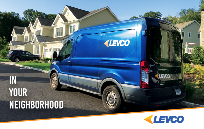 A Levco van in your neighborhood