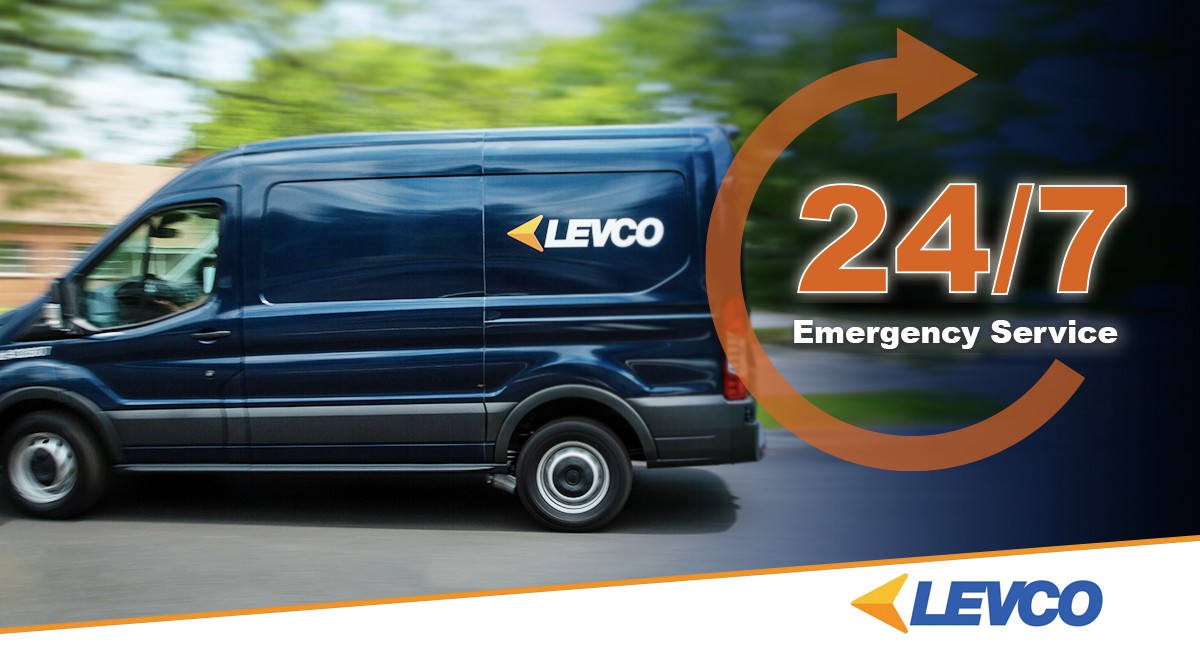Levco Has Your Back With 24/7 Emergency Service