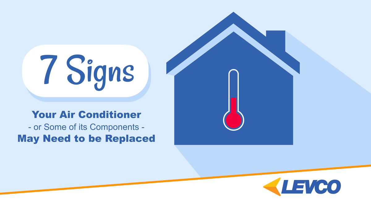 7 Signs Your Air Conditioner May Need to be Replaced