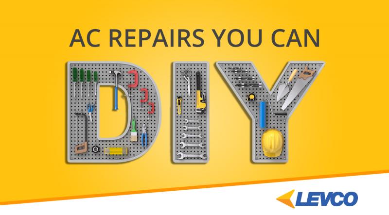 AC repairs you can DIY