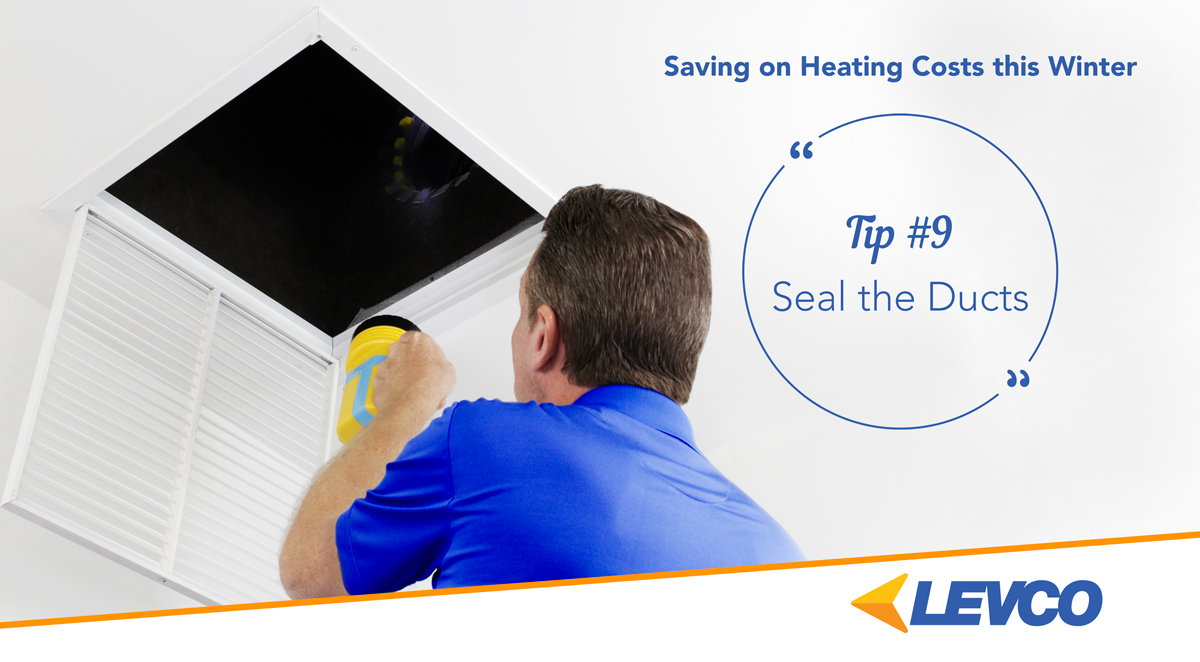 Saving on Heating Costs – Tip #9 Seal the Ducts