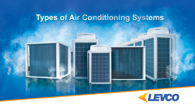 Types of air conditioning systems