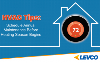 HVAC Tips: schedule annual maintenance before heating season begins