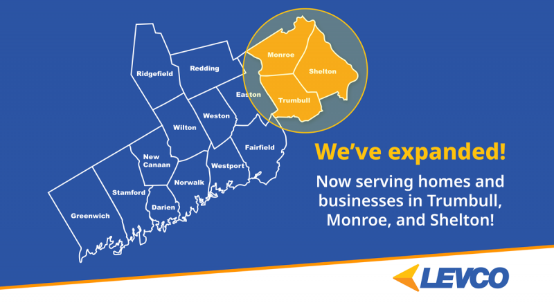 now serving homes and businesses in Trumbull, Monroe, and Shelton