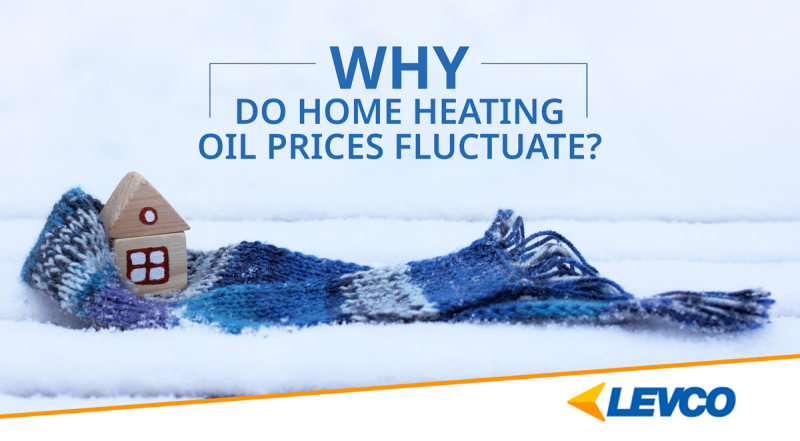why do home heating oil prices fluctuate?