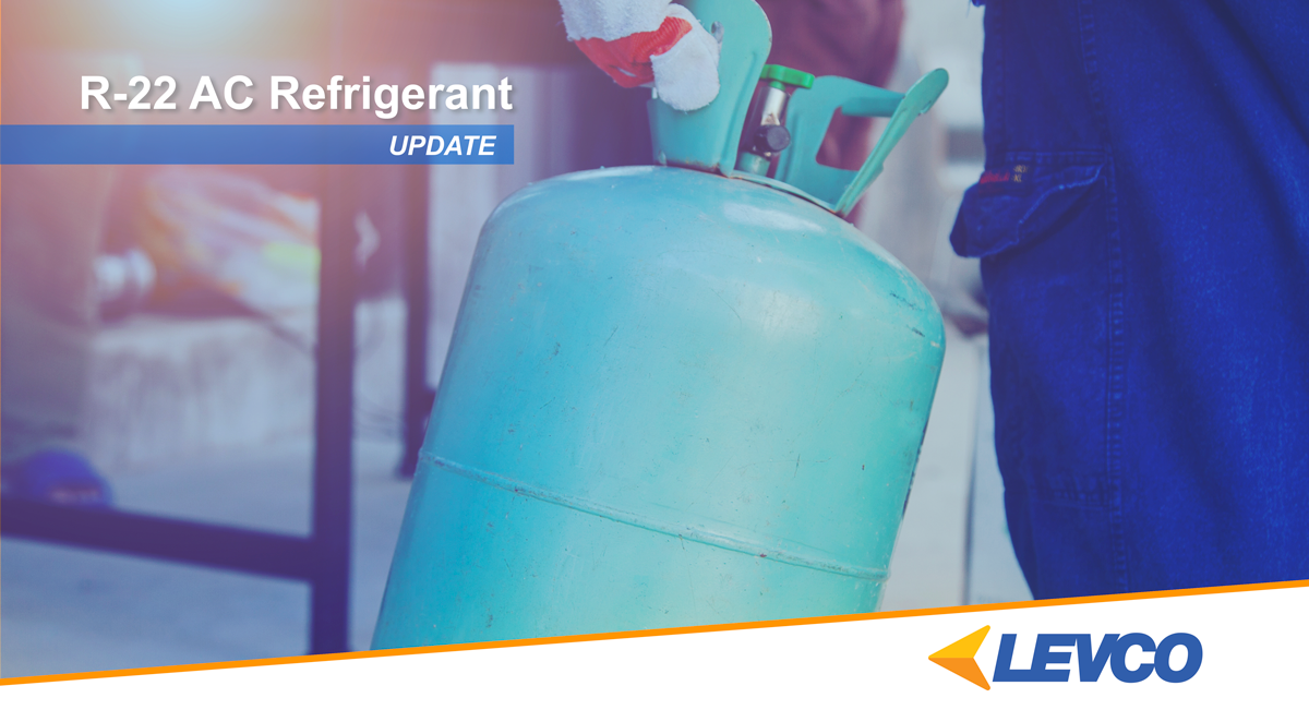 R-22 Air Conditioning Refrigerant Update